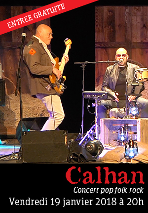 Calhan - Concert pop folk rock