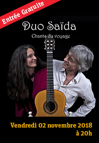 Duo Saïda - chants du voyage