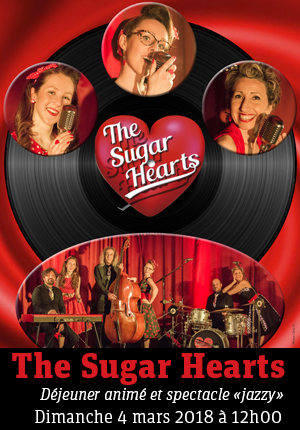 The Sugar Hearts - Concert Swing Jazz